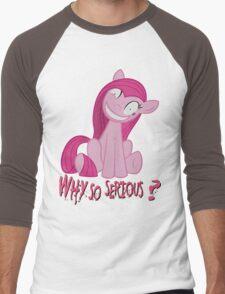 Why so serious?  Men's Baseball ¾ T-Shirt