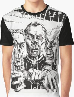 The Graveyard Book, 'The Ghouls' - ink Graphic T-Shirt