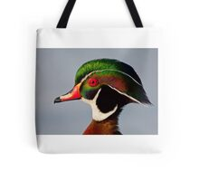 Colours of a Wood Duck Tote Bag