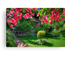 Inside The Dell Canvas Print