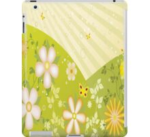 Multicolor Flowers and Butterflies iPad Case iPad Case/Skin