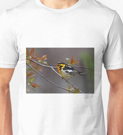 Blackburnian Warbler Unisex T-Shirt