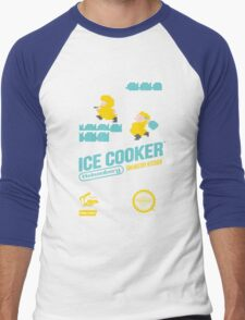 Ice Cooker Men's Baseball ¾ T-Shirt