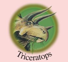 Triceratops Baby Tee