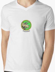 Triceratops Mens V-Neck T-Shirt