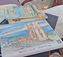 sketching by terezadelpilar~ art & architecture
