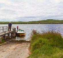 Poddy Shot Ramp, Wilson Inlet, Denmark, W.A. by Elaine Teague