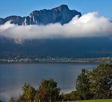 Lake Mondsee by phil decocco