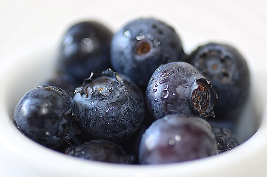 Blueberries by Martina Fagan