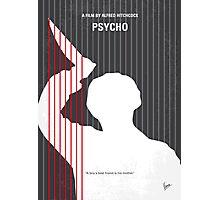 No185 My Psycho minimal movie poster Photographic Print