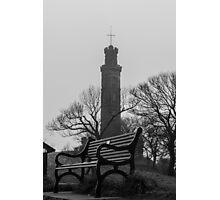 Empty bench Photographic Print