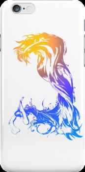 final fantasy 10 game case art by 10naruto23
