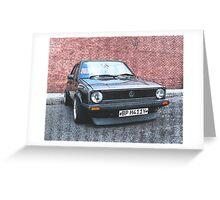VW Mark 1 GTi Greeting Card