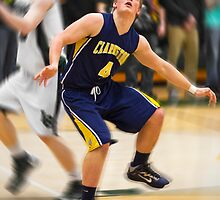 Nathan Yeloushan | 2012-13 | Clarkston Basketball Poster by alexela