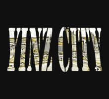 Yinz City: White/Yellow Highlights Kids Clothes