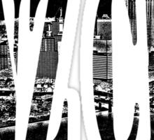 Yinz City: Black Sticker