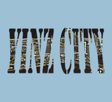 Yinz City: Black/Yellow Highlights Kids Clothes