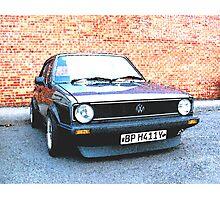 Volkswagon Mark1 GTi Photographic Print