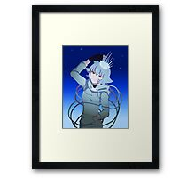 Queen of Ice Framed Print