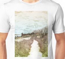 Coastal path at Crail in Fife, Scotland [Colour version] Unisex T-Shirt