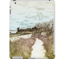 Coastal path at Crail in Fife, Scotland [Colour version] iPad Case/Skin
