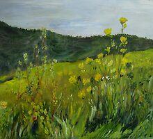 Neskonlith Spring by Lynda Earley