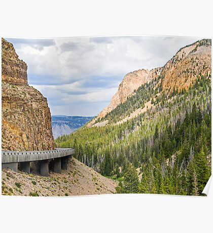 Yellowstone's Golden Gate Poster