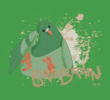 Crumbs: Birdbrain Green T-Shirt