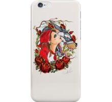 Red and the Wolf iPhone Case/Skin