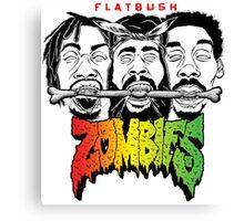 FLATBUSH ZOMBIES BONE EATERS Canvas Print