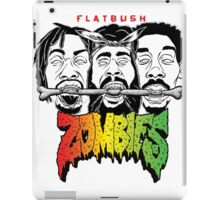FLATBUSH ZOMBIES BONE EATERS iPad Case/Skin