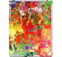 Abstract pen drawing late 1990s iPad Case/Skin