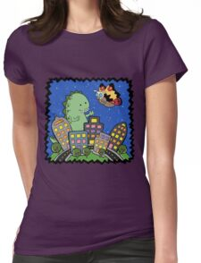 Monstrous Friendship  Womens Fitted T-Shirt