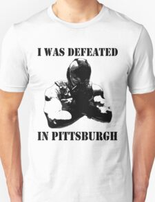I Was Defeated, Bane: Grayscale Unisex T-Shirt