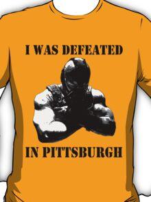 I Was Defeated, Bane: Black/White Print T-Shirt