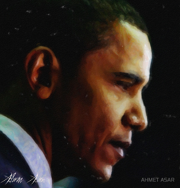 obama1 art by Adam Asar
