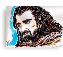Thorin Oakenshield, Mr Armitage Canvas Print