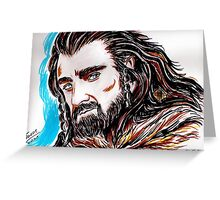 Thorin Oakenshield, Mr Armitage Greeting Card