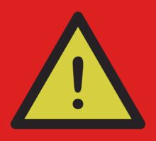 Danger Warning Sign Symbol by Style-O-Mat