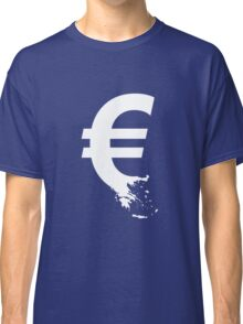 Universal Unbranding - The Greek Collapse Classic T-Shirt