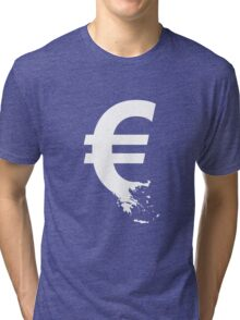 Universal Unbranding - The Greek Collapse Tri-blend T-Shirt
