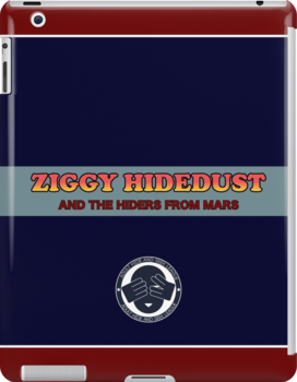 Ziggy Hidedust & The Hiders From Mars by lethalfizzle