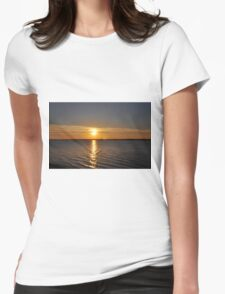 SUNSET ME Womens Fitted T-Shirt