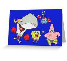 All together square Greeting Card