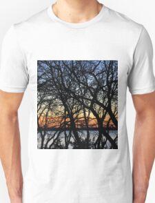SUNSET TREES T-Shirt