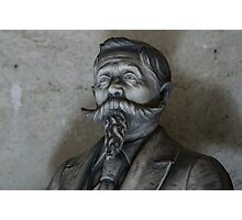 Moustache and Beard Photographic Print