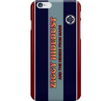 Ziggy Hidedust & The Hiders From Mars iPhone Case/Skin