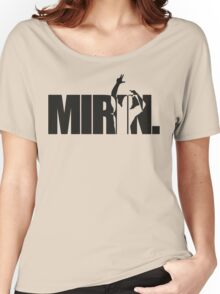 Mirin. (version 2 black) Women's Relaxed Fit T-Shirt