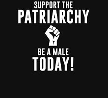 Support The Patriarchy - White Unisex T-Shirt