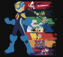 Megaman: Souls of a Hero V2 Minimal T-Shirt